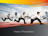 Careers/Industry: Business Competing PowerPoint Template #12363