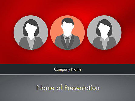 Business Concepts: Team Presentation PowerPoint Template #12364