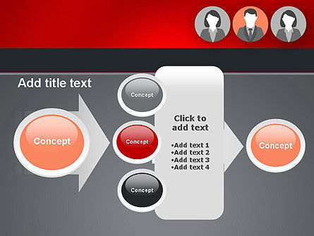 Team Presentation PowerPoint Template Slide 17