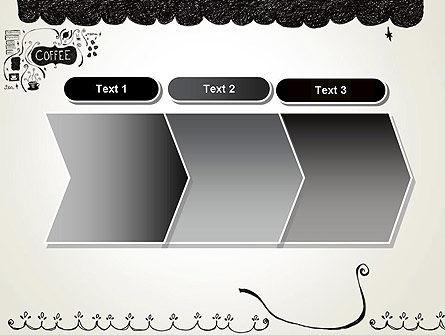 Coffee Doodles PowerPoint Template Slide 16