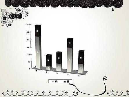 Coffee Doodles PowerPoint Template Slide 17