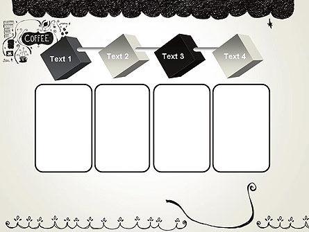 Coffee Doodles PowerPoint Template Slide 18