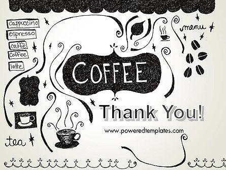 Coffee Doodles PowerPoint Template Slide 20