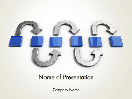 Business Concepts: Innovation Processes PowerPoint Template #12367