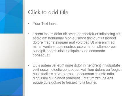 Blue Layers PowerPoint Template, Slide 3, 12369, Abstract/Textures — PoweredTemplate.com