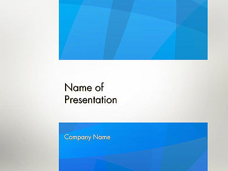 Blue Layers PowerPoint Template