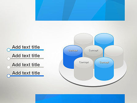 Blue Layers PowerPoint Template Slide 12