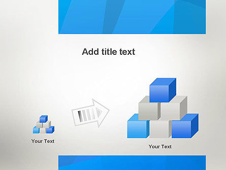 Blue Layers PowerPoint Template Slide 13