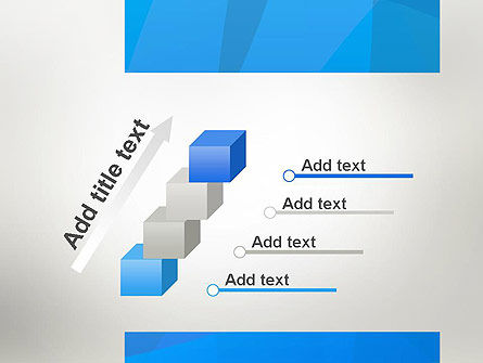 Blue Layers PowerPoint Template Slide 14