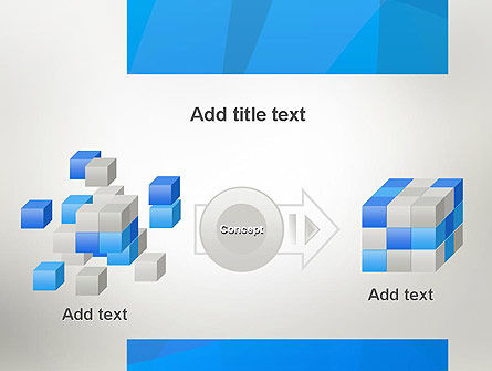 Blue Layers PowerPoint Template Slide 17