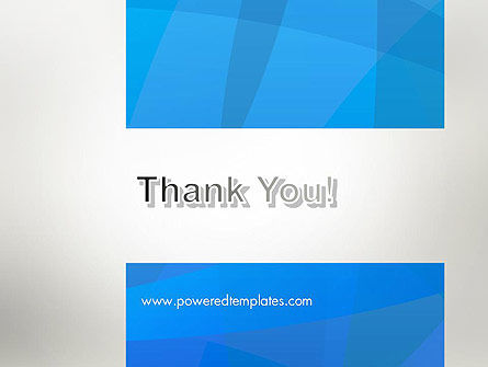 Blue Layers PowerPoint Template Slide 20