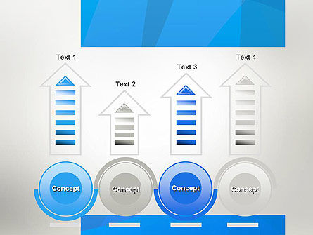 Blue Layers PowerPoint Template Slide 7