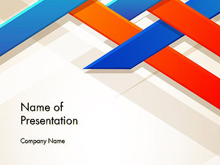 Abstract Braided PowerPoint Template