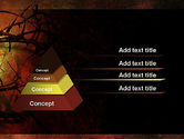Crown of Thorns on Grunge PowerPoint Template#12