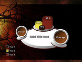 Crown of Thorns on Grunge PowerPoint Template#16