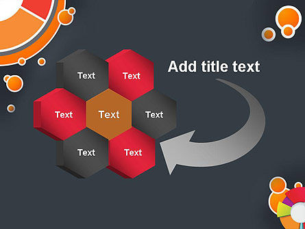 Circles and Pies PowerPoint Template Slide 11