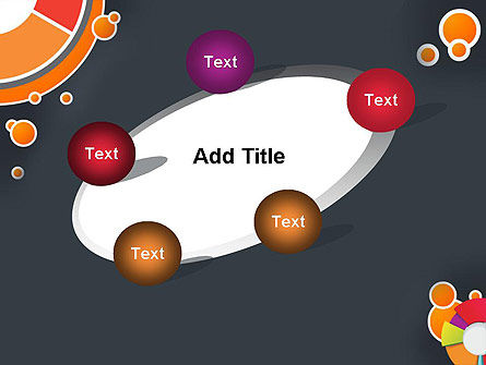 Circles and Pies PowerPoint Template Slide 14