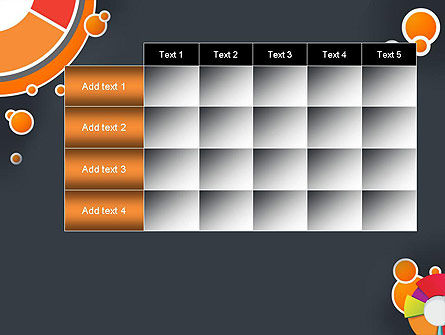 Circles and Pies PowerPoint Template Slide 15
