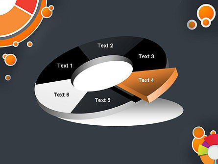Circles and Pies PowerPoint Template Slide 19