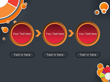 Circles and Pies PowerPoint Template Slide 5