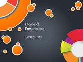 Abstract/Textures: Circles and Pies PowerPoint Template #12375