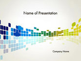 Abstract/Textures: Abstract Colorful Squares PowerPoint Template #12377