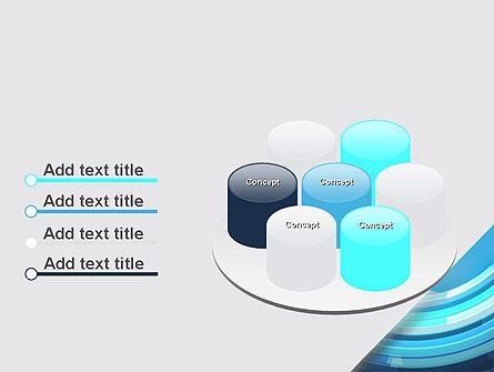 Abstract Rounded Lines PowerPoint Template Slide 12