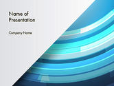 Abstract/Textures: Abstract Rounded Lines PowerPoint Template #12380