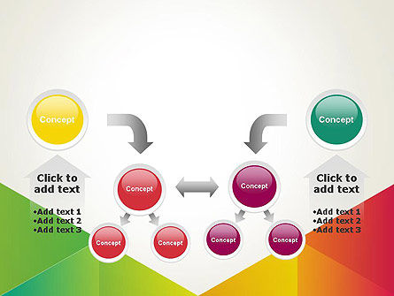 Colorful Triangles Background PowerPoint Template Slide 19