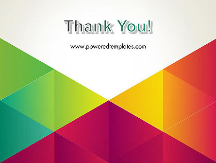 Colorful Triangles Background PowerPoint Template Slide 20