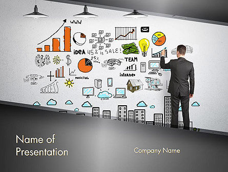 Small Business Marketing PowerPoint Template, 12383, Consulting — PoweredTemplate.com