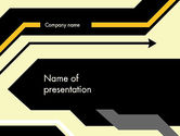 Abstract/Textures: Abstract Sharp Lines PowerPoint Template #12384