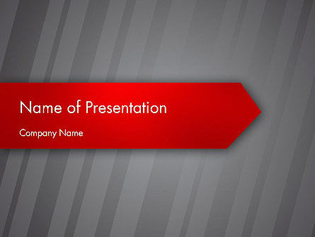 Keep Move On PowerPoint Template, 12385, Business Concepts — PoweredTemplate.com