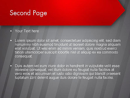 Keep Move On PowerPoint Template, Slide 2, 12385, Business Concepts — PoweredTemplate.com
