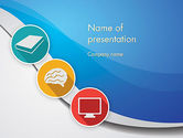 Education & Training: Education and Self Improvement PowerPoint Template #12387