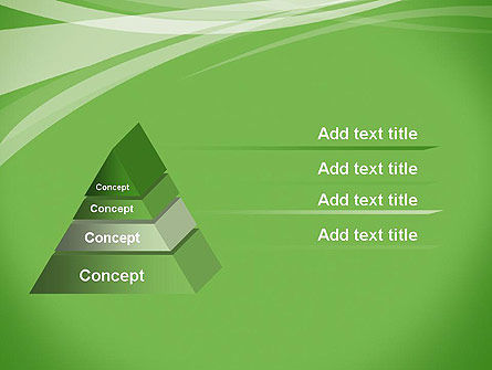 Abstract Green PowerPoint Template Slide 12