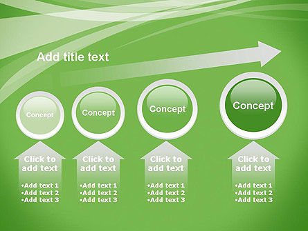 Abstract Green PowerPoint Template Slide 13