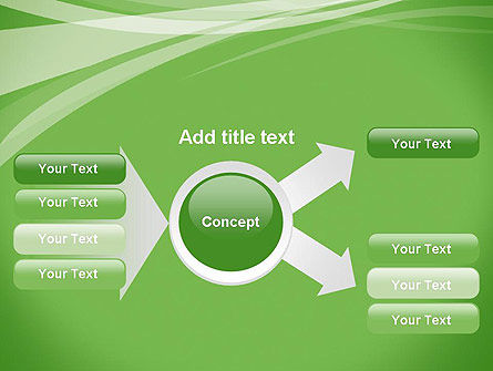 Abstract Green PowerPoint Template Slide 14