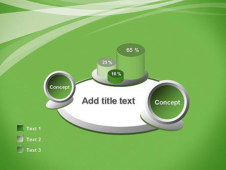 Abstract Green PowerPoint Template Slide 16