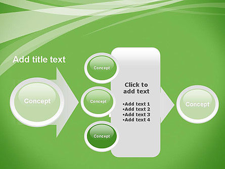 Abstract Green PowerPoint Template Slide 17