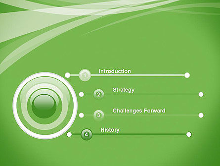 Abstract Green PowerPoint Template Slide 3