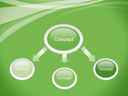 Abstract Green PowerPoint Template Slide 4