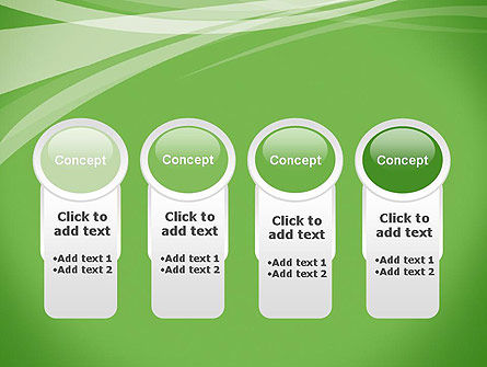 Abstract Green PowerPoint Template Slide 5