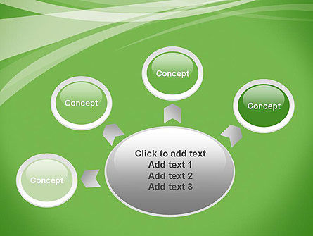 Abstract Green PowerPoint Template Slide 7