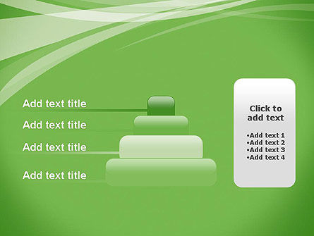 Abstract Green PowerPoint Template Slide 8