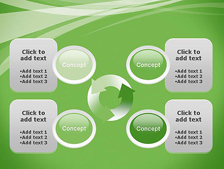 Abstract Green PowerPoint Template Slide 9