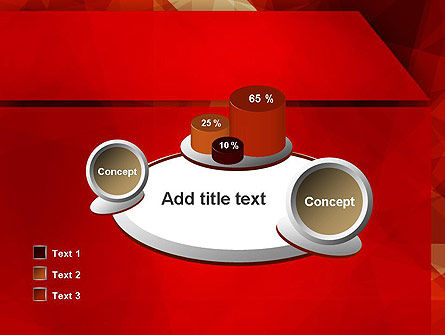 Geometric Red PowerPoint Template Slide 16