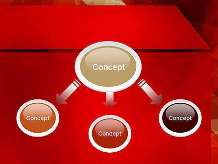 Geometric Red PowerPoint Template Slide 4