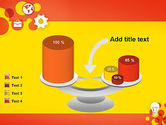 Dots and Icons PowerPoint Template#10