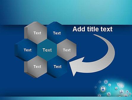 Network Circles PowerPoint Template Slide 11